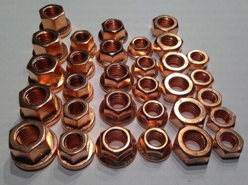 Kupfermutter M10 SET Satz /> 30 Stück Kupfermutter M8 6 verschiedene Typen