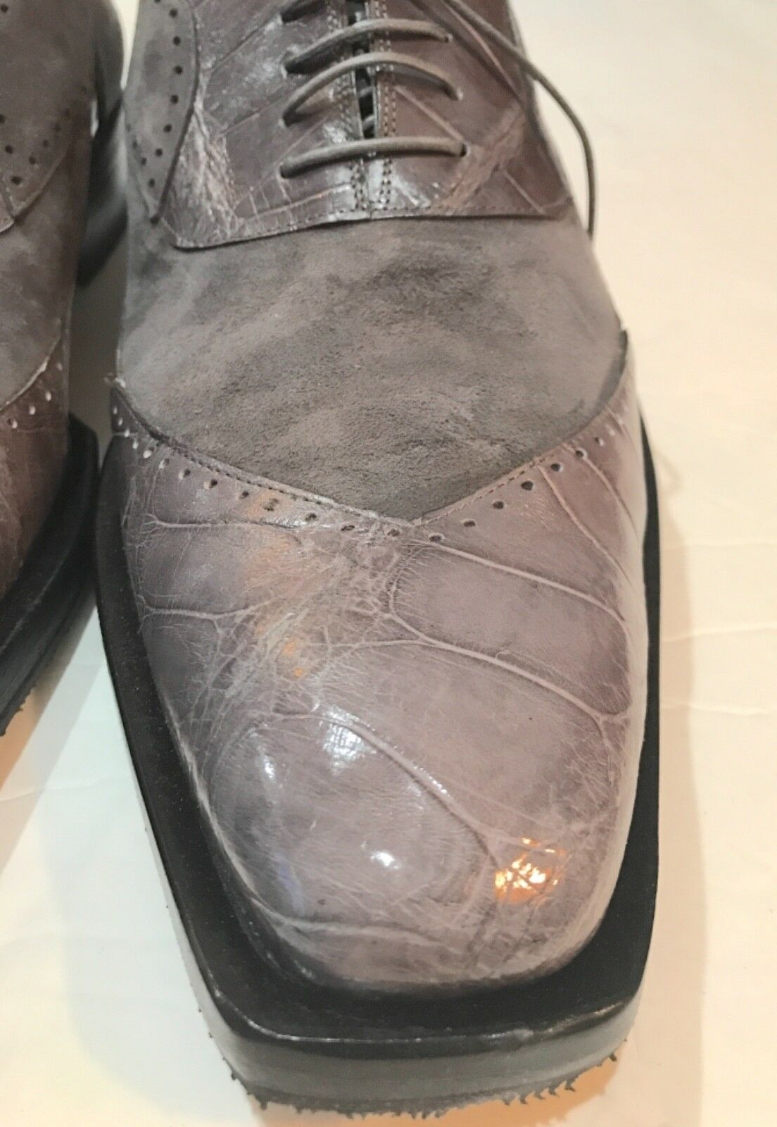 MAURI MEN Schuhe ALLIGATOR Schuhe MEN SIZE 13 bc120c