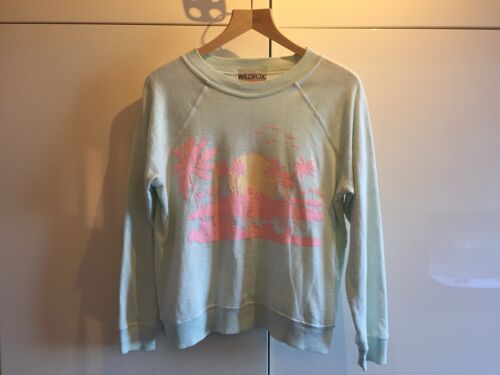 Jumper Wildfox Light Island With nbsp;new Pale Size Green Sweater Pink Tags Xs wTqTUxgrE