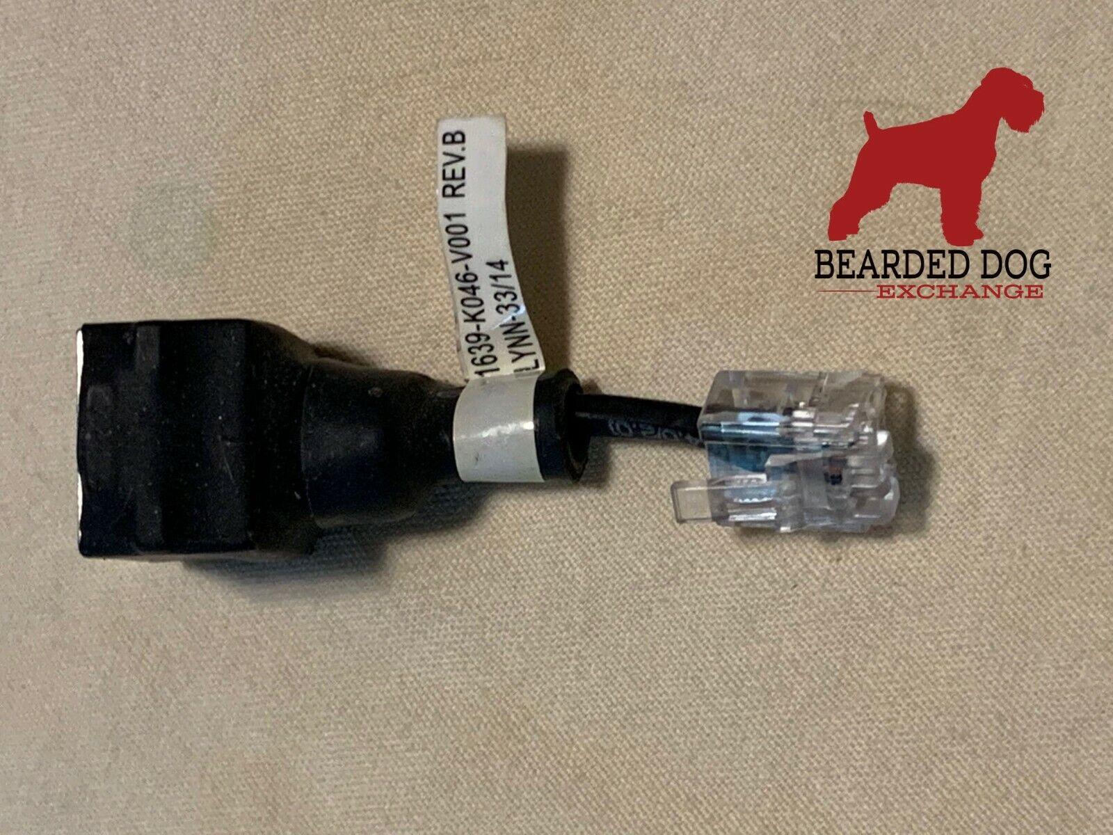 NCR RADIANT Printer Serial DB25 PIN MALE to RJ45 FEMALE  CN 10328 Rev B ALOHA