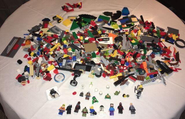 LEGO Bulk Lot of 1 Pound Basic Building Plates Clean Genuine Grab Bag
