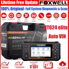 Foxwell NT624 Elite Engine ABS OBD2 Scanner