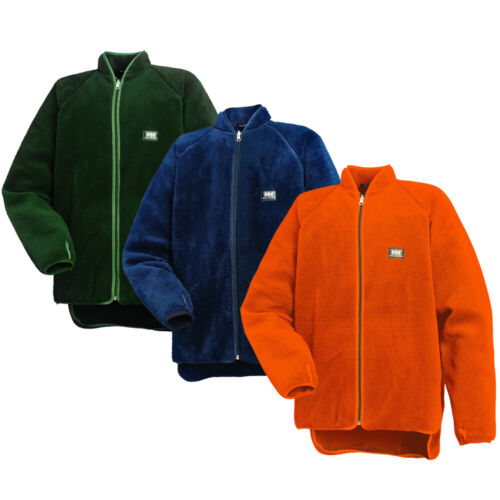 Helly Hansen Mens Basel Reversible Elastic Warm Fluffy Fleece Jacket
