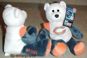 Chicago Bears NFL Team Teddy bear GREAT CHRISTMAS GIFT IDEAL | eBay