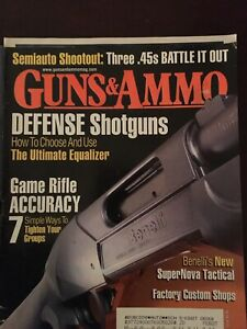 Guns-amp-Ammo-Sept-2006-Defense-Shotguns-Game-Rifle-Accuracy