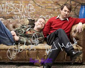 Peep Show David Mitchell Robert Webb SIGNED FRAMED 10x8 REPRO PHOTO PRINT