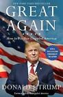 Great Again: How to Fix Our Crippled America by Donald J. Trump (Paperback, 2016)