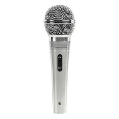 DURABLE DYNAMIC PROFESSIONAL XLR MICROPHONE MIC WITH 5M LEAD /& BLACK CARRY CASE