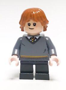 LEGO HARRY POTTER MINIFIGURE RON WEASLEY GRYFFINDOR GREAT HALL 75954