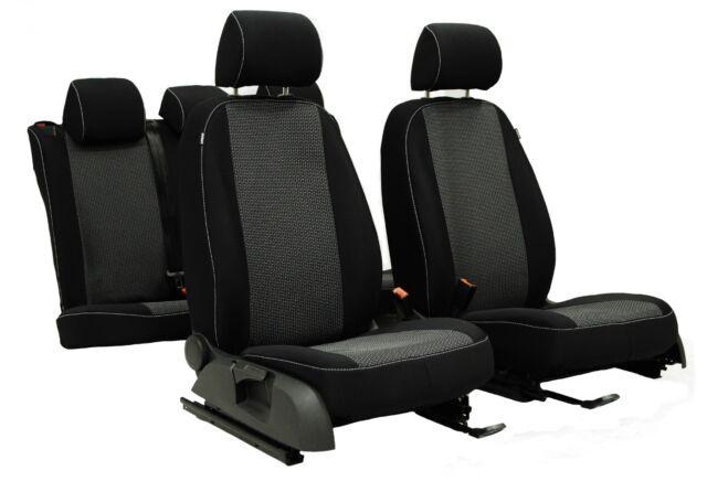 Sattler Maß Sitzbezüge Autositzbezüge Schwarz TREND 2017 für Ford