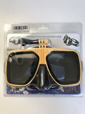 GoPro Mask Speardiver Stealth spearfishing and freediving removable GoPro mount