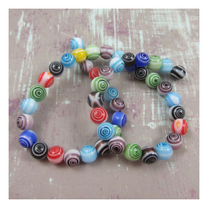 ROUND-MIXED-COLOURED-GLASS-BEADS-3-SIZES-BEADING-JEWELLWRY-MAKING-CRAFTS-BEADS