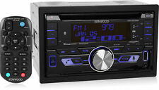 Kenwood DPX502BT Double DIN Bluetooth SiriusXM Ready Car Stereo w/ FLAC Support