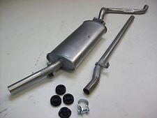 Auspuff Auspuffanlage Abgasanlage 2tlg. VW Golf 50PS Serie 2 Bj. 79-