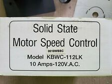 Details about  /Solid State Motor Speed Control Model KBWC-16K 6amps-120 VAC