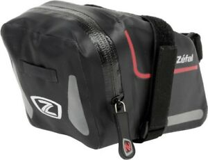 Zefal-Z-Dry-Pack-L-Fahrrad-Satteltasche-1-2-L-schwarz-wasserdicht-mit-Reflexband