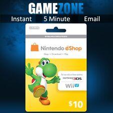 Nintendo Eshop Gift Card 25 Gbp For Sale Online Ebay