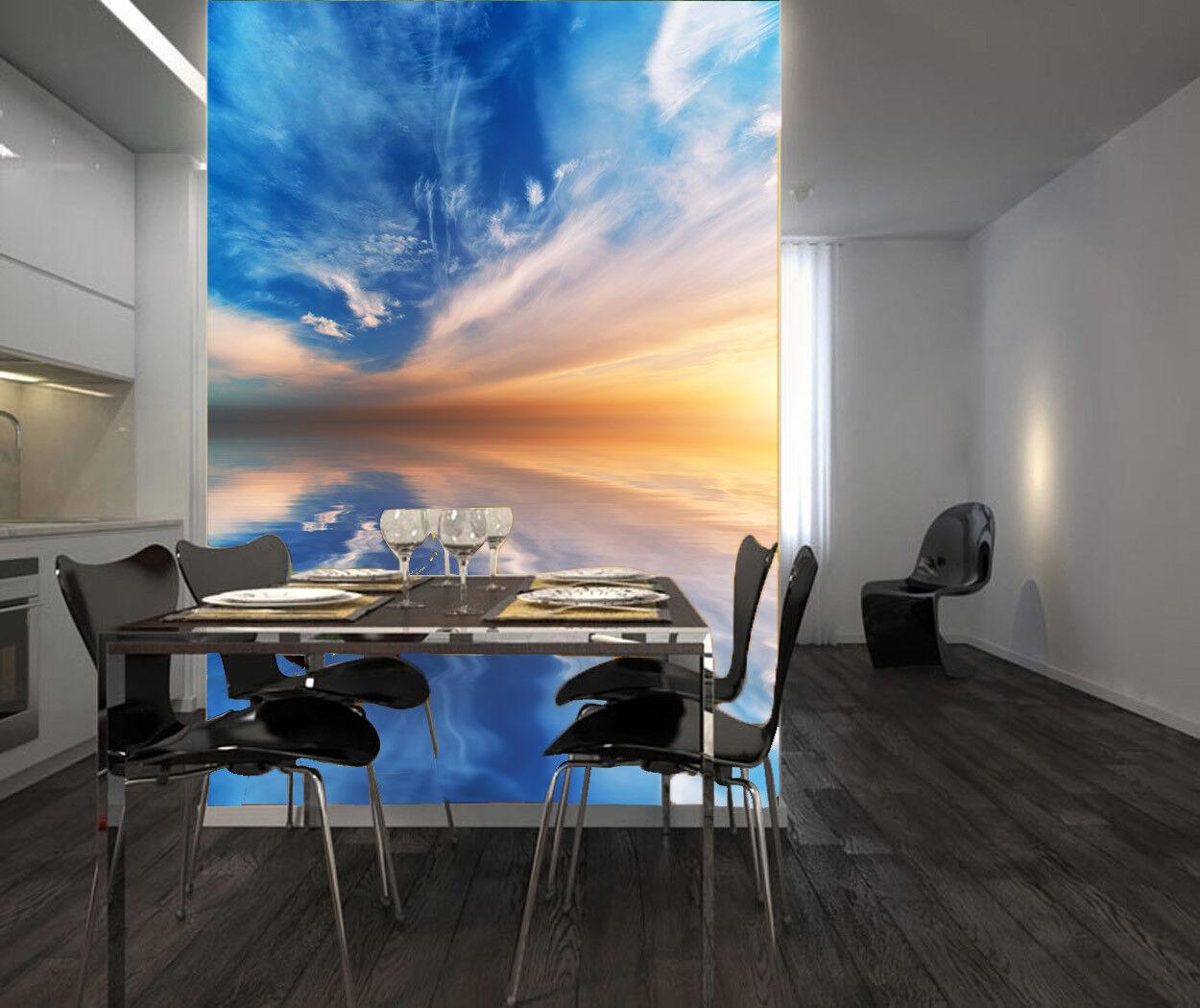3D Bule Cloud 451 Wallpaper Murals Wall Print Wall Mural AJ WALL AU Summer