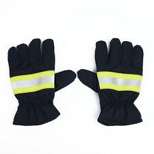 1 Pair Firefighting Gloves Heat Resistant Non Slip Protective Gloves