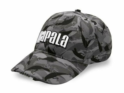 Rapala 5 Led Cap Kopfbekleidung Fish-camo design Einheitsgröße