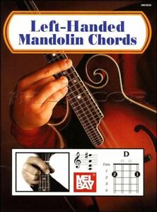 Left-handed Mandolin Chords Mel Bay's Picture Chord Book Same Day Dispatch-afficher Le Titre D'origine MatéRiaux De Haute Qualité