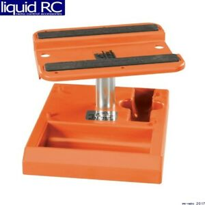 Duratrax-C2371-Pit-Tech-Deluxe-Car-Stand-Orange