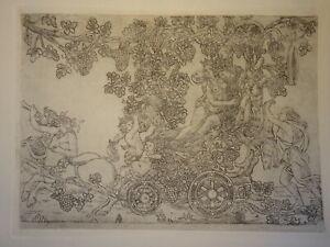 Baccio-BALDINI-1436-1487-GRAVURE-RENAISSANCE-ARIANE-BACCHUS-FIRENZE-ITALIE