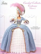 1775 French Court Dress for Barbie Doll Paradise #2 Crochet PATTERN
