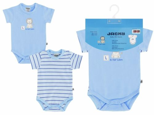 Jacky Boley bébé body pack 2er ou 3er pack-diverses variantes taille 50//56-86//92