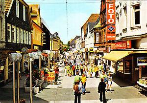 Lippstadt , Lange Straße ; Ansichtskarte 1985 gel. - Rostock, Deutschland - Lippstadt , Lange Straße ; Ansichtskarte 1985 gel. - Rostock, Deutschland