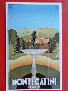 POSTCARD  MONTECATINI  ITALY  POSTER CARD - Tadley, United Kingdom - POSTCARD  MONTECATINI  ITALY  POSTER CARD - Tadley, United Kingdom