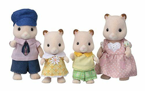 Calico Critters dolls hamster family FS-20 Japan