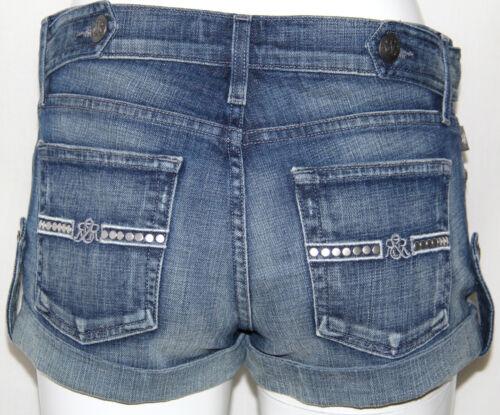 Republic Rock 24 Mode Lowrise New Blue Simon Shorts Dames Maat Mayhem wa675Cq