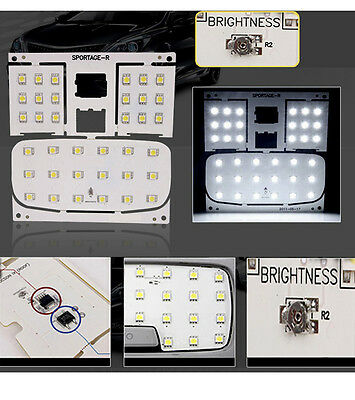 Premium LED Interior Map Dome Lights Lamp 5400K For 11~2015 Kia Sportage R