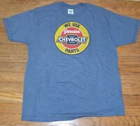Gm Chevrolet We Use Genuine Chevrolet Parts Officially Licensed T-shirt Tee