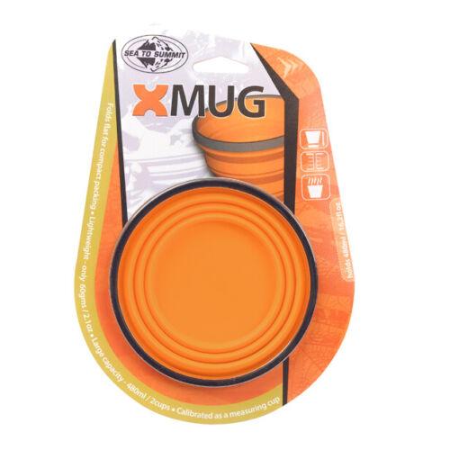 Details about  /Sea To Summit X-Mug Collasbible Compact Hiking Silicone Mug