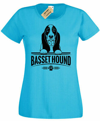 Womens Border Collie T-Shirt dog lover gift present ladies Top Scoop