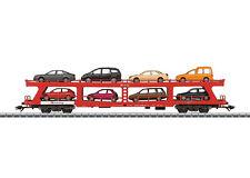 NEU in OVP Märklin 42341 Autotransportwagen DB AG beladen
