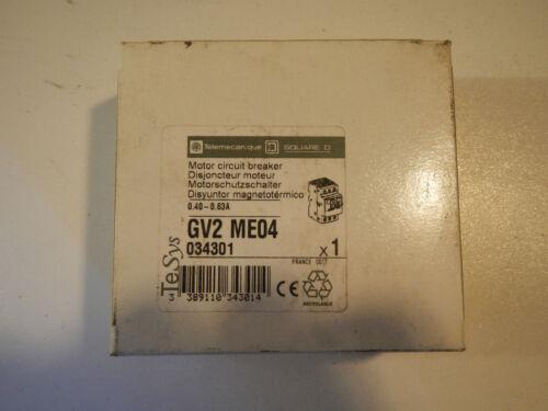 1 von 1 - Telemecanique / Schneider/ Motorschutzschalter Typ: GV2 ME04 /NEU/OVP
