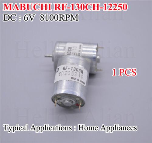 Mini Mabuchi RF-130CH DC 6V 8100RPM Small Silent Mute 130 DC Motor DIY Toy Hobby