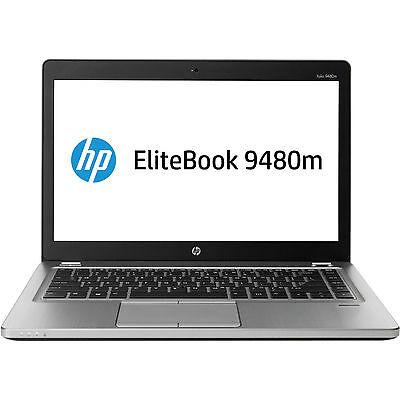 "HP EliteBook Folio 9480m 14"" Intel Core i5 500GB+32GB SSD 4GB Windows7/8 Laptop"