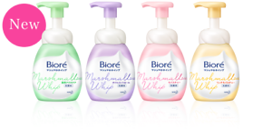 NEW-KAO-Biore-Marshmallow-Whip-Face-Cleanser-150mL-Skin-Purifying-Technology