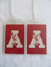 Alabama State Flag Design TagCrazy Luggage Tags Durable Plastic Loops-1 Pack