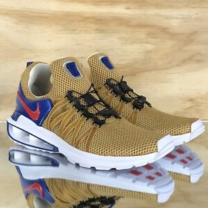 Nike Shox Gravity World Cup Metallic Gold White Red Blue  AR1999-700 ... f1a2085ea