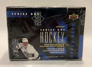1993 Upper Deck series 1 NHL Hockey JUMBO Card Box 20 packs Factory Sealed