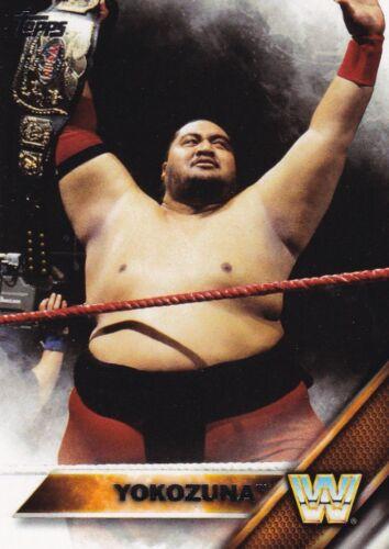 2016 TOPPS WWE Then now Forever Cox #200 Yokozuna