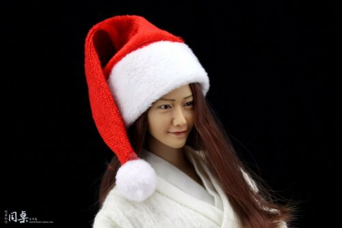 "Custom Cosplay DIY 1//6 Scale Christmas Hat For 12/"" Hot Toys Figure Head Sculpt"