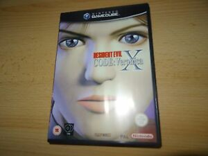 Resident-Evil-Codigo-VERONICA-X-PAL-Reino-Unido-NINTENDO-GAMECUBE