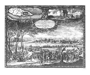 Antique-map-Ichnographia-munitissimae-Urbis-Christianstad