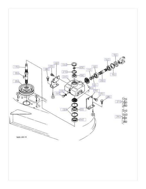 Buy Repair Kit For Kubota 76578 99040 Gearbox Rc60 F19 Rc60 Fz21